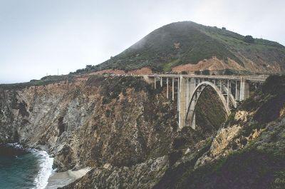 bridge over coastal water