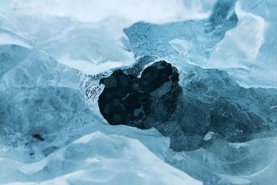 glacier scene