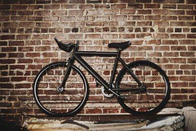 black bycycle