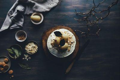 rustic pear desert