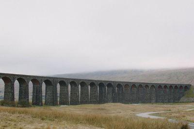 bridge in field