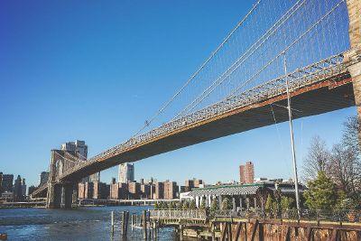 bridge in good weather