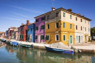 multi colored buildings