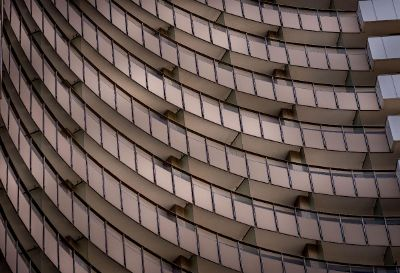 curved building balconies