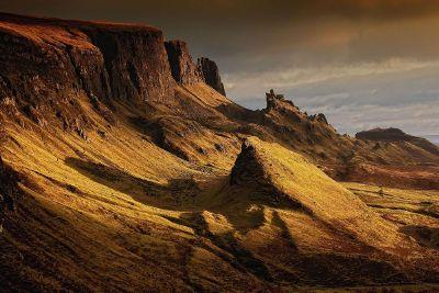 deserted mountain