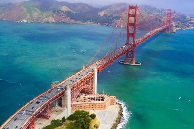 bridge over ocean inlet