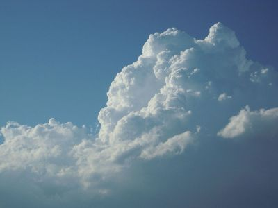 massive cumulonimbus clouds