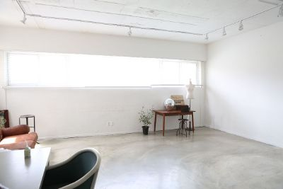 white room with sparse decoration