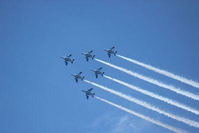 fleet of jets