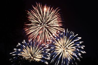 fireworks detail