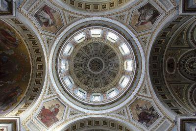 it is an ecclesiastic basilica for saint