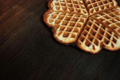 a tasty waffle