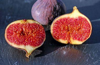 halved fruit