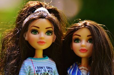 fashion dolls with brown hair