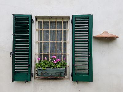 open shutters