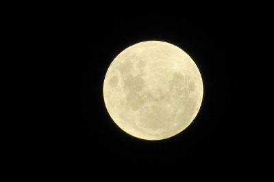 white big moon