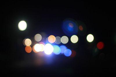artsy street lights