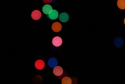 dots of light