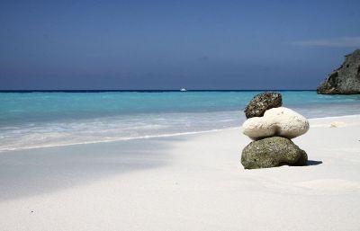 calm seashore