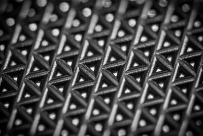 close up plastic pattern