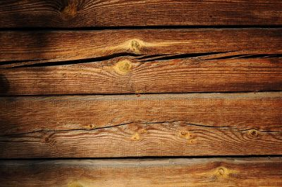 worn stack of lumber