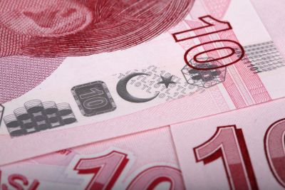 foreign currency up close