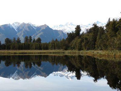 serene lake beside mountains