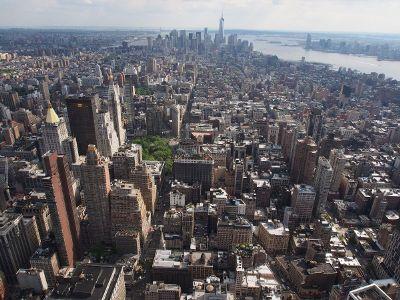 huge cityscape
