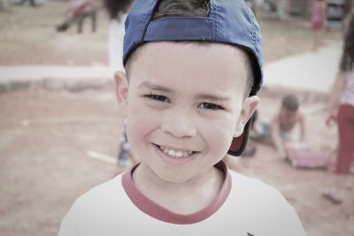 smiling boy