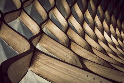 bent wood design