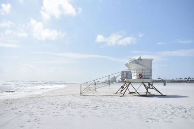 beachside lookout