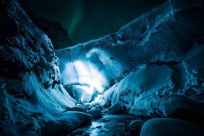 ice ravine