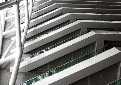 upshot of balconies