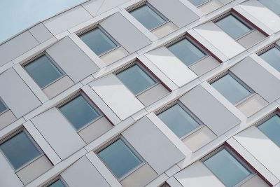 the side of a building