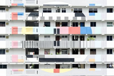 colorful facade design