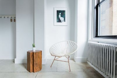 tranquil sitting area