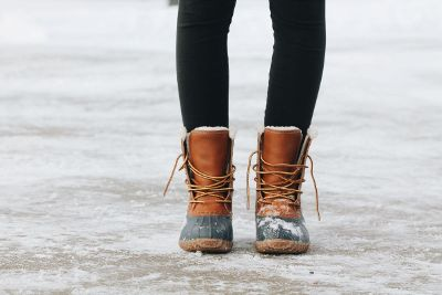 boots on ice