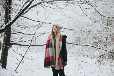 cold winter walk