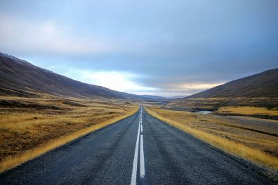 lonely highway road