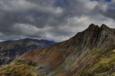 stormy mountains