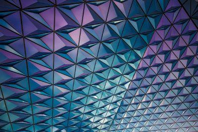 3d triangle pattern