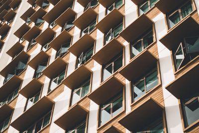 windows of highrise