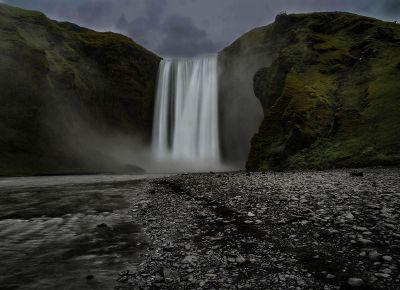 single waterfall
