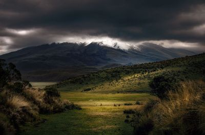 stormy hills