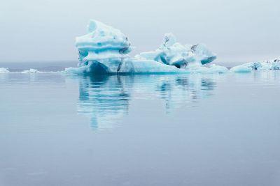ice caps in arctic