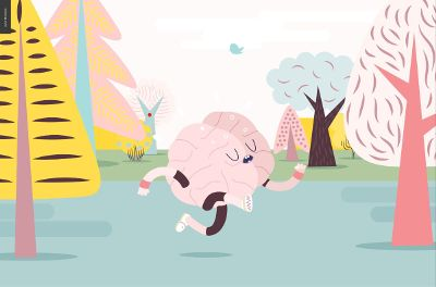 running brains
