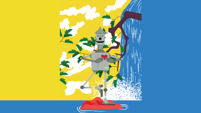 tinman illustration